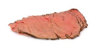 σπάνιο roast βόειου κρέατος στοκ εικόνες