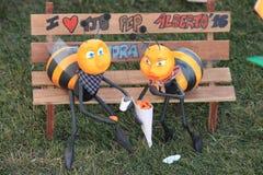 Σπάσιμο μελισσών Στοκ Εικόνες