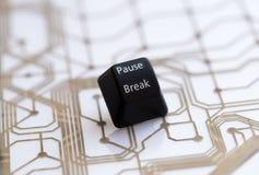Σπάσιμο μικρής διακοπής κουμπιών Στοκ φωτογραφία με δικαίωμα ελεύθερης χρήσης