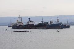 Σπάσιμο σκαφών Στοκ Φωτογραφίες