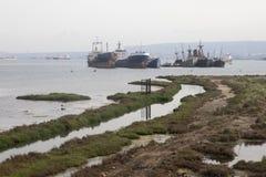 Σπάσιμο σκαφών Στοκ φωτογραφία με δικαίωμα ελεύθερης χρήσης