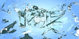 Σπάσιμο του πάγου Στοκ Εικόνες