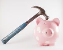 σπάσιμο τραπεζών Στοκ εικόνες με δικαίωμα ελεύθερης χρήσης