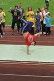 Σπάσιμο-χορευτής Στοκ Φωτογραφίες