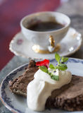 Σπάσιμο Coffeee Στοκ φωτογραφίες με δικαίωμα ελεύθερης χρήσης