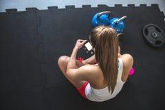 Σπάσιμο Workout Στοκ εικόνες με δικαίωμα ελεύθερης χρήσης