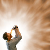 σπάστε το άκρο καφέ στοκ εικόνα