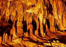 σπήλαια luray Βιρτζίνια Στοκ Εικόνα