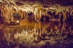 Σπήλαια Luray, Βιρτζίνια Στοκ εικόνα με δικαίωμα ελεύθερης χρήσης