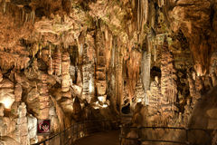 Σπήλαιο Luray Στοκ Εικόνες