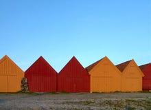 σπίτια βαρκών Στοκ Εικόνα