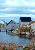 σπίτια βαρκών Στοκ Φωτογραφία