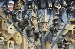Σπίτια για τα πουλιά Στοκ Φωτογραφία