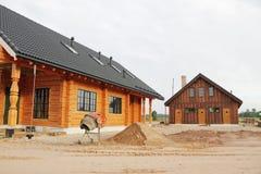σπίτια δύο Στοκ Εικόνες