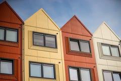 Σπίτια εμπορευματοκιβωτίων Στοκ φωτογραφίες με δικαίωμα ελεύθερης χρήσης