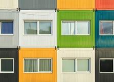 Σπίτια εμπορευματοκιβωτίων Στοκ φωτογραφία με δικαίωμα ελεύθερης χρήσης