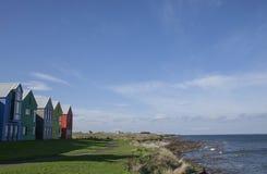 Σπίτια θαλασσίως Στοκ Φωτογραφία