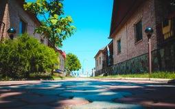 Σπίτια θερινών εξοχικών σπιτιών Στοκ εικόνα με δικαίωμα ελεύθερης χρήσης