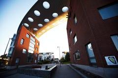Σπίτια διαμερισμάτων στο Ελσίνκι Στοκ Εικόνες