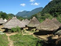 σπίτια Ινδός στοκ εικόνες