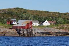 Σπίτια και καμπίνες Bolga Στοκ Εικόνες