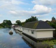 σπίτια καναλιών Στοκ φωτογραφία με δικαίωμα ελεύθερης χρήσης