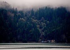 Σπίτια καναλιών φθινοπώρου Στοκ Εικόνες