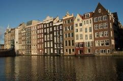 Σπίτια καναλιών Στοκ εικόνες με δικαίωμα ελεύθερης χρήσης