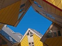 σπίτια κύβων Στοκ Φωτογραφίες