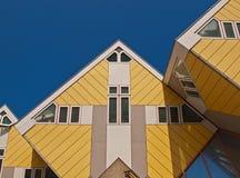 σπίτια κύβων Στοκ εικόνα με δικαίωμα ελεύθερης χρήσης