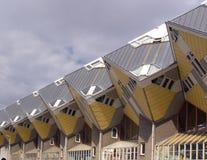 σπίτια κύβων Στοκ εικόνες με δικαίωμα ελεύθερης χρήσης
