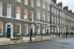 σπίτια Λονδίνο στοκ φωτογραφία με δικαίωμα ελεύθερης χρήσης