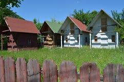 σπίτια μίνι Στοκ φωτογραφίες με δικαίωμα ελεύθερης χρήσης