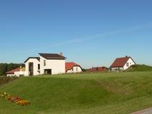 σπίτια νέα Στοκ εικόνα με δικαίωμα ελεύθερης χρήσης