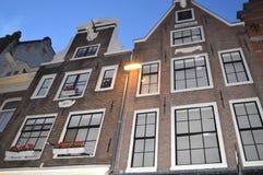 Σπίτια ν Άμστερνταμ στοκ φωτογραφία