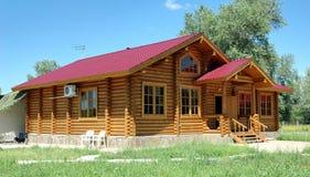 σπίτια ξύλινα Στοκ φωτογραφίες με δικαίωμα ελεύθερης χρήσης