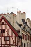 σπίτια παλαιά Στοκ φωτογραφίες με δικαίωμα ελεύθερης χρήσης
