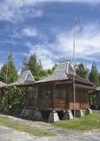 σπίτια παραδοσιακά Στοκ Εικόνες