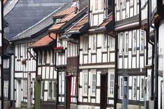 σπίτια πλαισίου Στοκ φωτογραφία με δικαίωμα ελεύθερης χρήσης