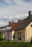 Σπίτια προαστίων Στοκ φωτογραφία με δικαίωμα ελεύθερης χρήσης