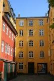 σπίτια προσόψεων Στοκ Εικόνα