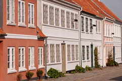 σπίτια πόλεων Στοκ φωτογραφίες με δικαίωμα ελεύθερης χρήσης