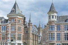 Σπίτια σε Anvers, Βέλγιο Στοκ Φωτογραφία
