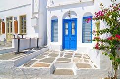 Σπίτια σε Apollonia Σίφνος Ελλάδα Στοκ εικόνες με δικαίωμα ελεύθερης χρήσης