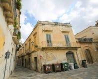 Σπίτια σε Lecce, Πούλια Στοκ εικόνα με δικαίωμα ελεύθερης χρήσης