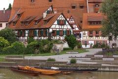 Σπίτια σε Rottenburg Στοκ Εικόνες