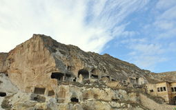 Σπίτια σπηλιών Στοκ φωτογραφία με δικαίωμα ελεύθερης χρήσης