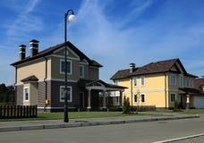 Σπίτια στην Αμερική Στοκ φωτογραφία με δικαίωμα ελεύθερης χρήσης