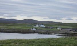 Σπίτια στην απόσταση Στοκ εικόνα με δικαίωμα ελεύθερης χρήσης
