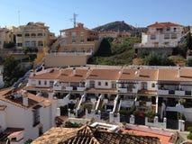 Σπίτια στην Ισπανία Στοκ εικόνες με δικαίωμα ελεύθερης χρήσης